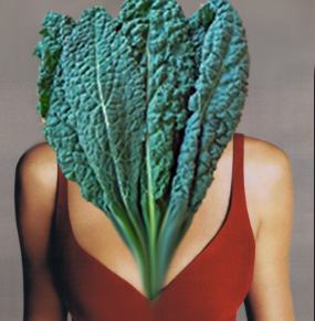 kale decolletage